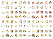 Vector Abstract Logo Icon Design Set Stock Images