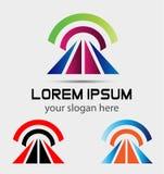 Vector Abstract logo template Stock Image