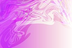 Vector abstract magenta to white color shaded wavy background, wallpaper stock illustration