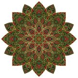 Vector abstract mandala. Stock Photo