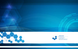 Vector abstract medical and health care concept leaflet banner design background Stock Photo