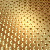 Vector abstract metal gold background with squares Stock Image