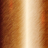 Vector abstract metallic copper background Stock Photography