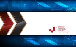 Vector abstract metallic frame tech innovation concept background Royalty Free Stock Photos