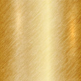 Vector abstract metallic gold background Stock Photography