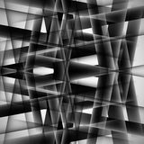 Vector abstract monochrome pattern line techno eps Stock Photography