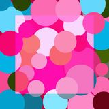 Vector abstract multicolored image circles. Layers grouped for easy editing illustration. For your design Stock Photos