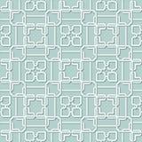 Vector Abstract Naadloos Geometrisch Islamitisch Behang Stock Afbeeldingen