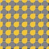 Vector Abstract Naadloos Geometrisch Patroon Stock Fotografie