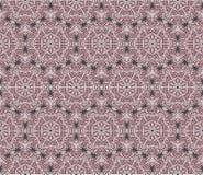 Vector abstract naadloos mozaïekpatroon Royalty-vrije Stock Foto