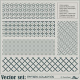 Vector abstract naadloos patroon Stock Fotografie