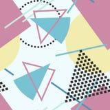 Vector abstract naadloos patroon Stock Afbeelding