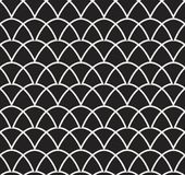 Vector abstract naadloos patroon Art Deco Style Background Geometrische textuur royalty-vrije illustratie