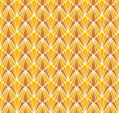 Vector abstract naadloos patroon Art Deco Style Background Geometrische textuur Stock Foto