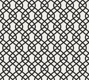 Vector abstract naadloos patroon Geometrische klassieke achtergrond Retro modieuze textuur vector illustratie