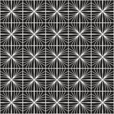 Vector abstract naadloos patroon Geometrische klassieke achtergrond Retro modieuze textuur stock illustratie