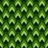 Vector abstract naadloos patroon met gerichte ovalen Stock Afbeeldingen