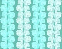 Vector abstract naadloos patroon met zoete room Royalty-vrije Stock Foto's