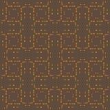 Vector abstract naadloos patroon van klein licht Stock Afbeelding