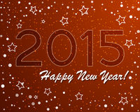 Vector of abstract new year graphic and background.  Stock Photos