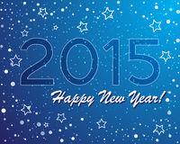 Vector of abstract new year graphic and background.  Royalty Free Stock Photo