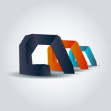 Vector abstract objects Stock Photo
