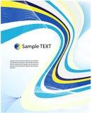 Vector abstract ontwerp Royalty-vrije Stock Afbeeldingen
