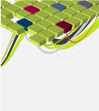 vector abstract ontwerp Royalty-vrije Stock Fotografie