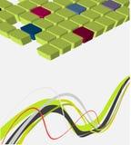 vector abstract ontwerp Stock Foto