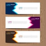 Vector abstract ontwerp voor het malplaatje en de achtergrond van het bannerweb Modern ontwerp eps 10 Stock Afbeelding
