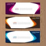 Vector abstract ontwerp voor het malplaatje en de achtergrond van het bannerweb Modern ontwerp eps 10 Stock Afbeeldingen