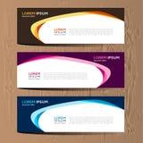 Vector abstract ontwerp voor het malplaatje en de achtergrond van het bannerweb Modern vectorontwerp eps 10 Royalty-vrije Stock Fotografie