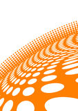 Vector abstract orange background Stock Photo