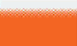 Vector abstract orange background with halftone grunge dot style Royalty Free Stock Photo