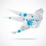 Vector abstract origami background Royalty Free Stock Photography