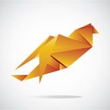 Vector abstract origami background Royalty Free Stock Images