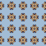 Vector abstract patroon met geometrische vormen Royalty-vrije Stock Foto