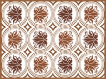 Vector abstract pattern Royalty Free Stock Photography