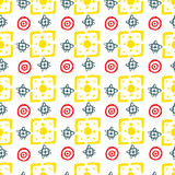Vector abstract pattern for design, many geometric shapes. Abstract pattern for design, many geometric shapes Stock Image