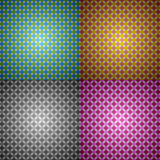 Vector abstract pattern set Royalty Free Stock Photography