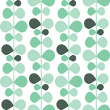 Vector abstract pattern texture, green plants Royalty Free Stock Photo