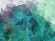Vector abstract polygon background. Low poly style illustration Royalty Free Stock Photography