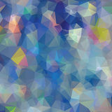 Vector abstract polygon triangulated Stock Photography