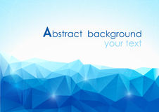 Vector abstract polygonal background Royalty Free Stock Images