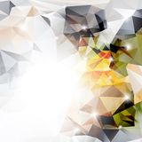 Vector abstract polygonal background Royalty Free Stock Photos