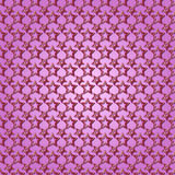 Vector abstract  purple background seamless pattern with stars Royalty Free Stock Photo