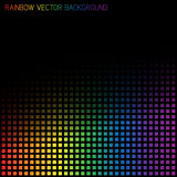 Vector abstract rainbow background Royalty Free Stock Photography