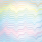 Vector abstract rainbow waves pastel  background Royalty Free Stock Photography