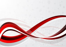 Vector abstract red background Stock Photos