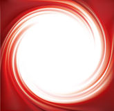 Vector abstract red swirl background Stock Images